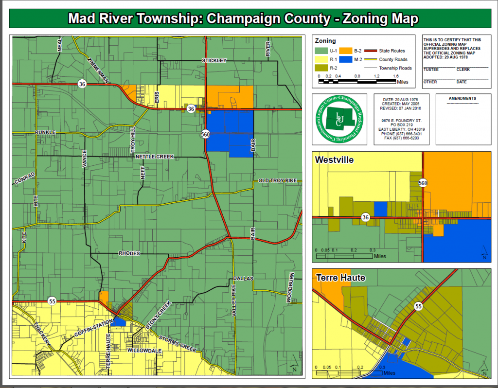 Zoning Code and Maps – Mad River Township